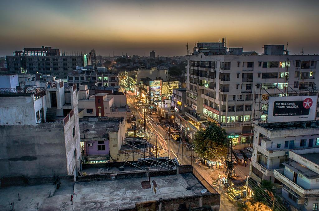 Varanasi, city lights 1