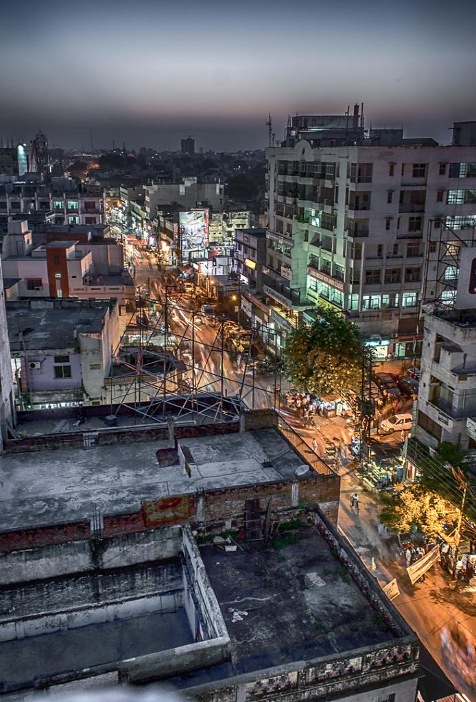Varanasi, city lights 2