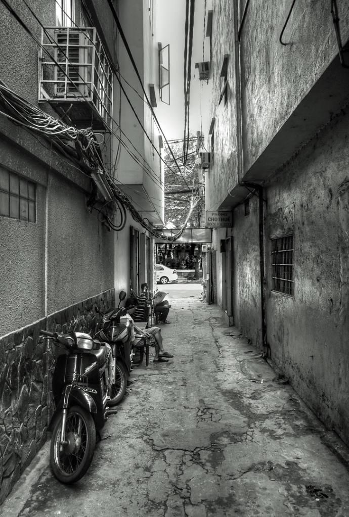 Back alley, Saigon