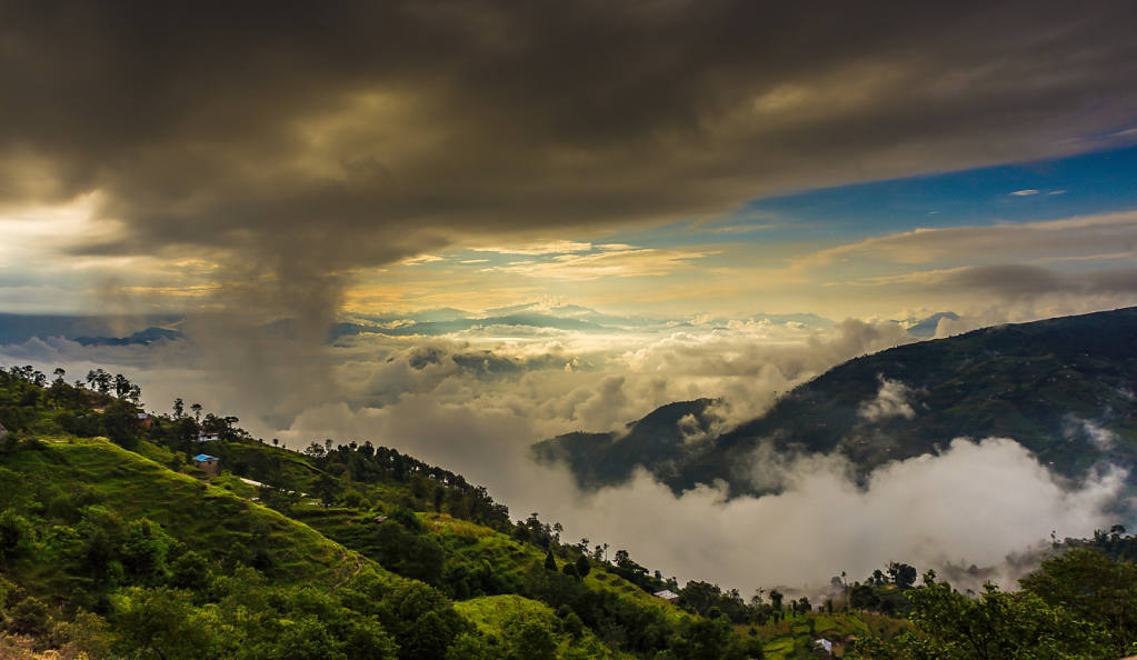 Clouds over Nagarkot