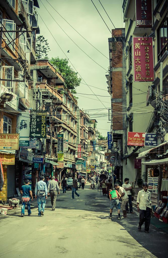 City street, Kathmandu