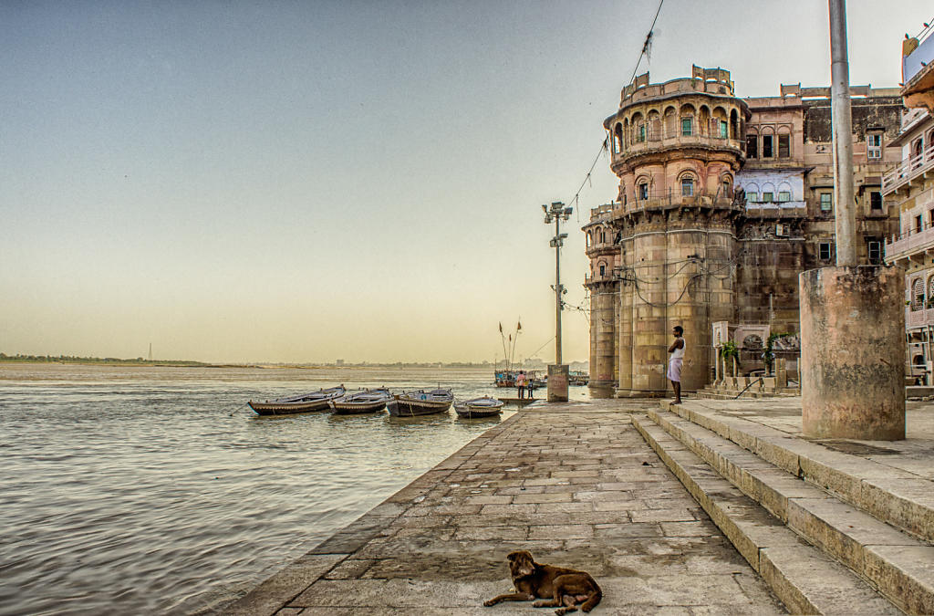 Dusk on the Ganges